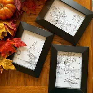 Beautiful hand drawn pictures